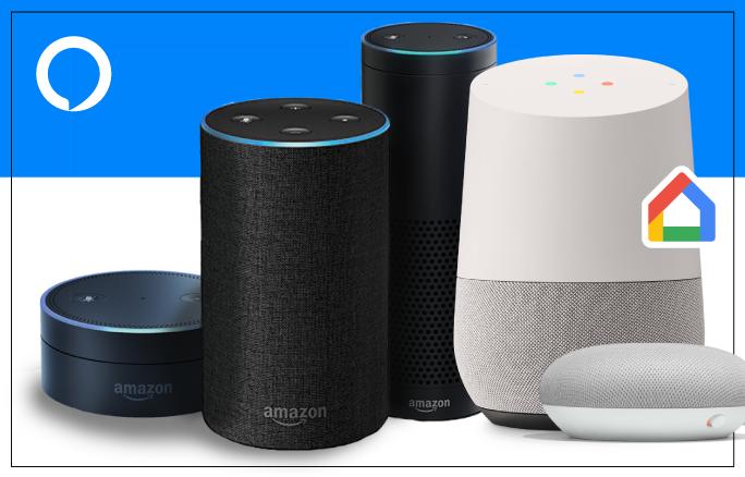 Features of Google Home & Amazon Alexa